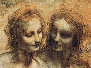 Leonardo da Vinci_anna_und_maria_detail