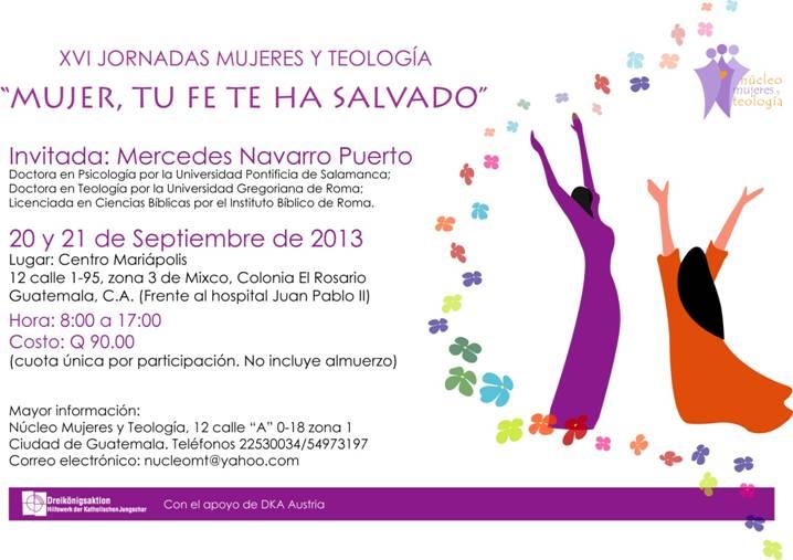 Mujeres y Teología guatemala