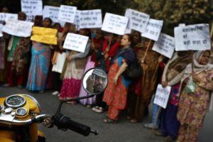 India manifestaciones por víctima de violación