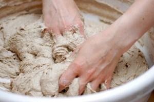amasar pan