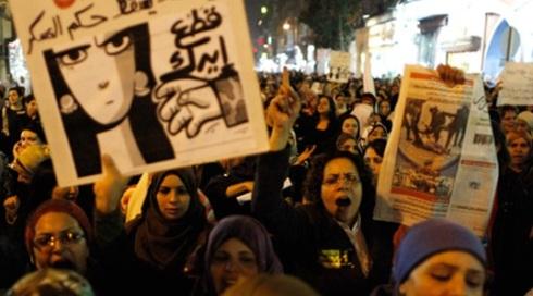 mujeres primaveras árabes