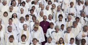 mujeres sacerdote anglicanas